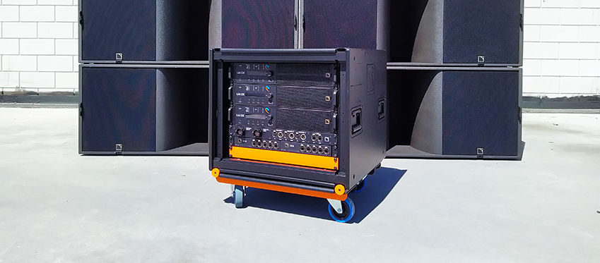 L-Acoustics LA-RAK II AVB Custom color Eventury Productions