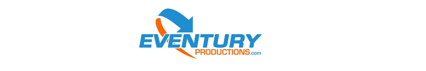 Eventury Productions logo, huren, verhuur, evenement, licht, geluid, podium, video
